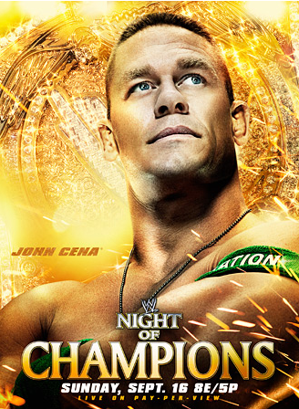 Wwe Night Of Champions 2012 Poster