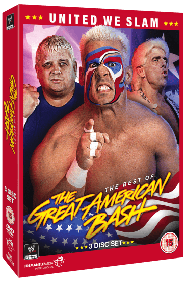 Great American Bash Dvd Set Cover