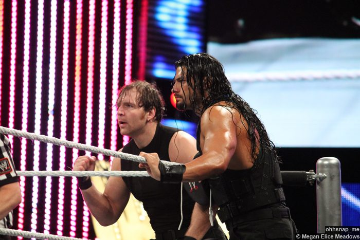 Shield Dean Ambrose Roman Reigns 2 07042014