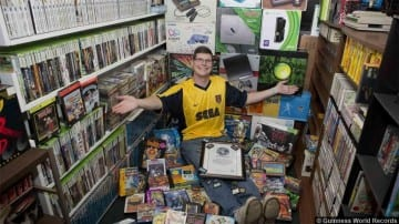 Video Games Collection Michael Thomasson