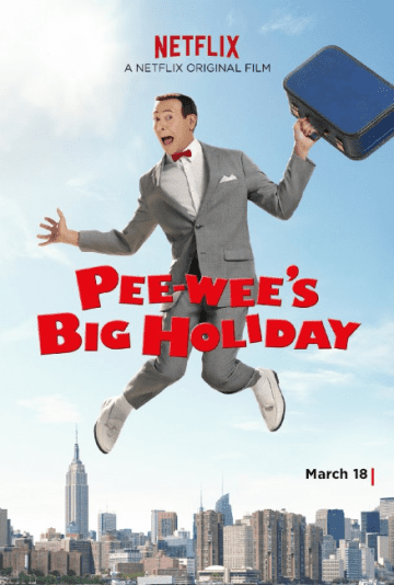 Pee Wee Holiday Poster