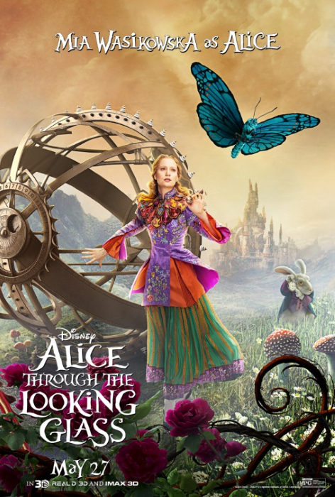 Alice Looking Glass Poster 3