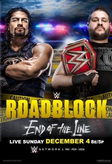 Wwe Roadblock 2016 Poster