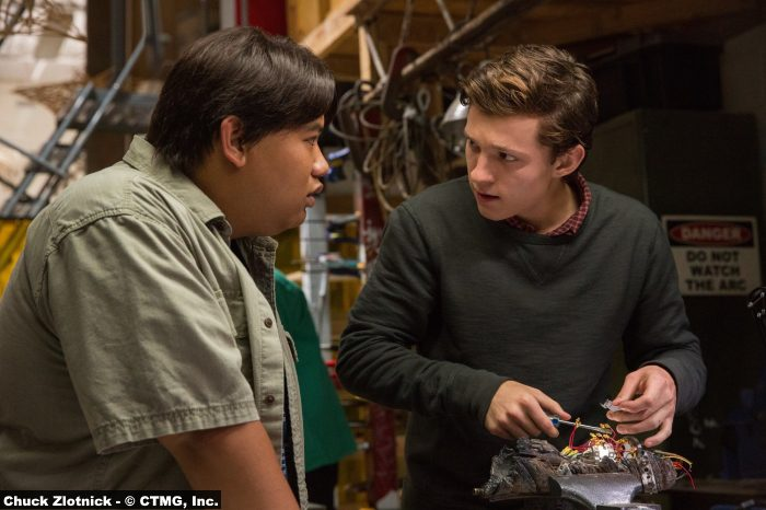Spider Man Homecoming Tom Holland Jacob Batalon