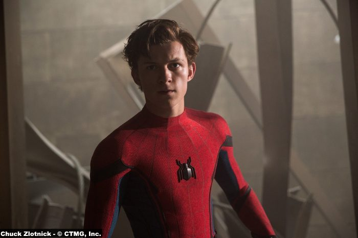 Spider Man Homecoming Tom Holland