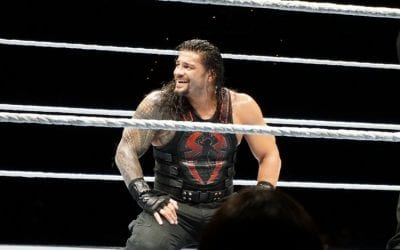 Roman Reigns laughs