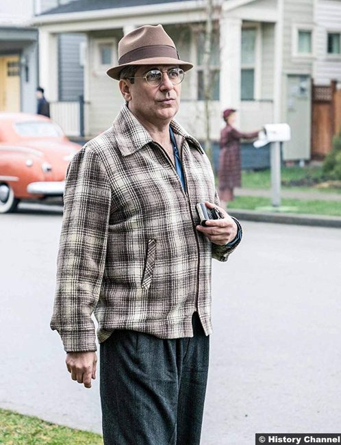 Project Blue Book S01e06 Michael Imperioli Edward Rizzuto