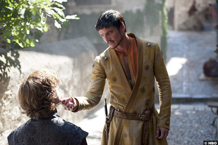 Game Thrones S04e01 Pedro Pascal Oberyn Martell Peter Dinklage Tyrion Lannister