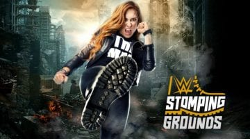 Wwe Stomping Ground 2019 Poster