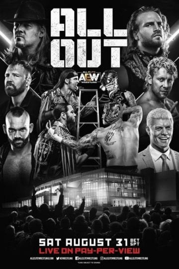 Aew All Out 2019 Poster