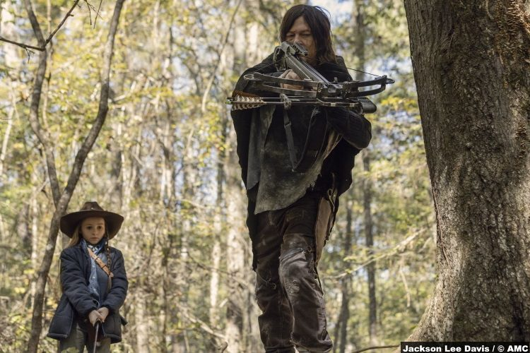 Walking Dead S10e15 Cailey Fleming Judith Grimes Daryl Norman Reedus